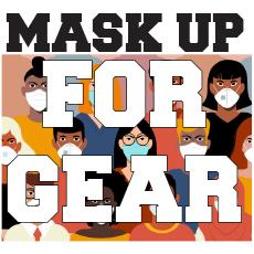Mask Up Gear HGR Gear Button