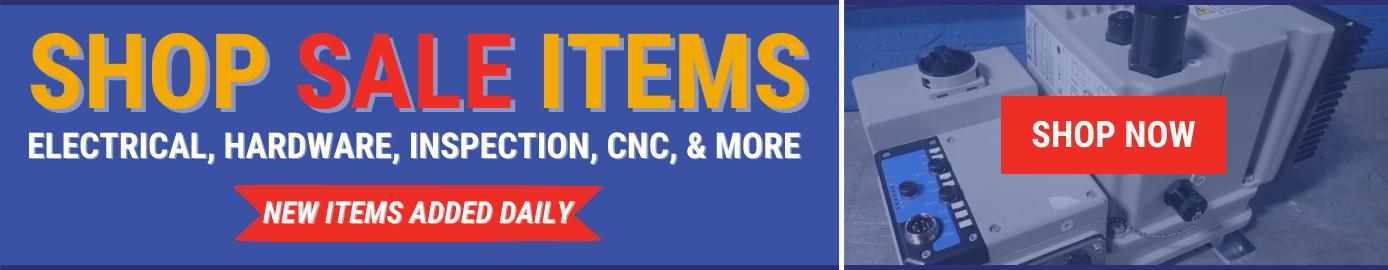 industrial equipment sale items